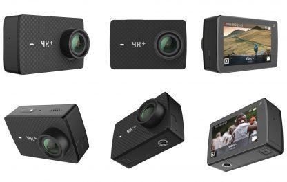 Экшен камера Xiaomi Yi 4k+ Action Camera Комплект с аквабоксом