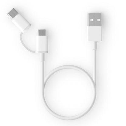 Кабель Xiaomi Micro Type-C 30 см (белый)1