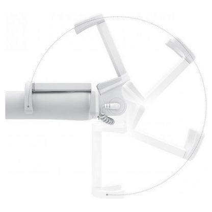 Монопод для селфи Xiaomi белый (проводной) - 1