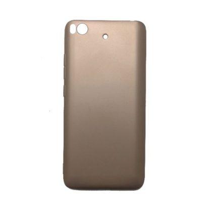 Накладка силиконовая для Xiaomi Mi5s золотой