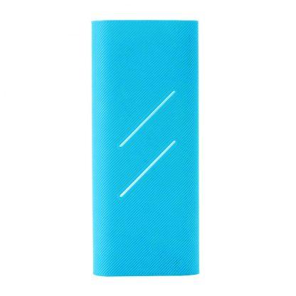 Силиконовый чехол Xiaomi для Powerbank 16 — синий