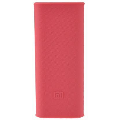Силиконовый чехол Xiaomi для Powerbank 16 - розовый