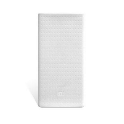 Силиконовый чехол Xiaomi для Powerbank 20 — белый