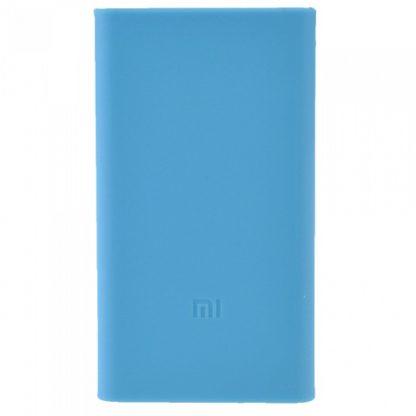 Силиконовый чехол Xiaomi для Powerbank 20 - синий