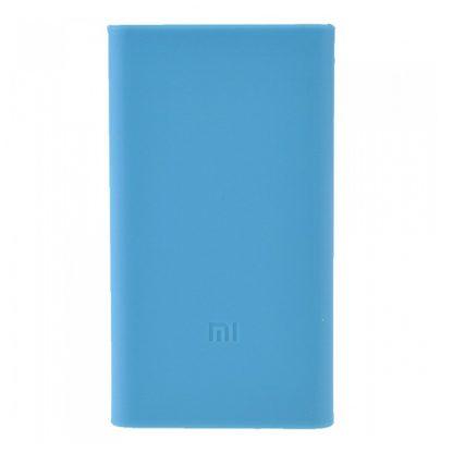 Силиконовый чехол Xiaomi для Powerbank 5 — синий