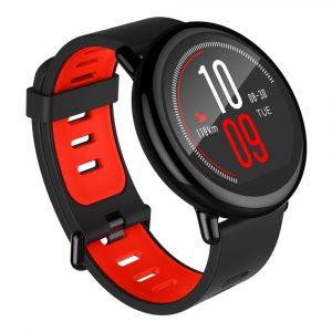 Умные фитнес-часы Xiaomi Amazfit (international version) Red Black1