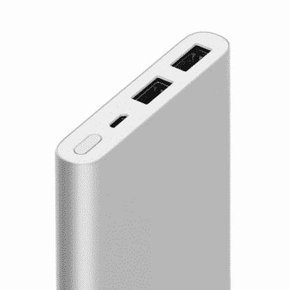 Внешний аккумулятор Xiaomi Power Bank 2 2USB 10000 mAh (silver)
