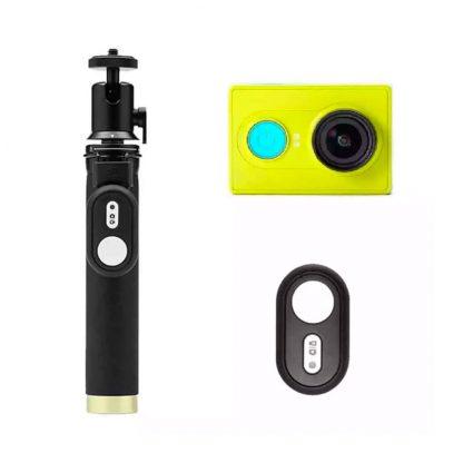 Экшн-камера Xiaomi Yi Action Camera Basic Selfie Stick set Global Green - 1