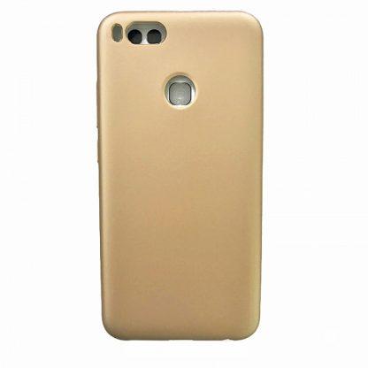 накладка силиконовая для Xiaomi A1 золотой