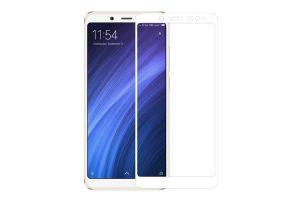 Защитное стекло 3D Xiaomi Redmi Note 5 белый