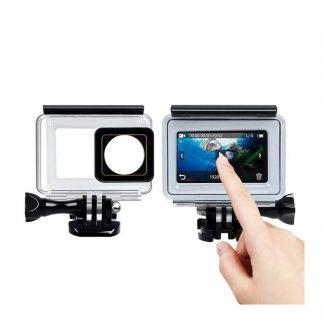 Akvaboks S Sensornym Ekranom Dlya Xiaomi Yi 4k 4k Action Camera 1