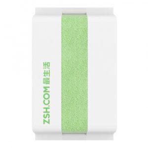 Хлопковое-полотенце-Xiaomi-ZSH-Youth-Series-76-x-34-—-green1