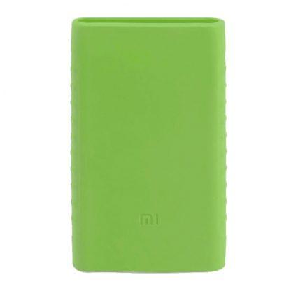 Силиконовый чехол Xiaomi для Powerbank 10 - зеленый - 1