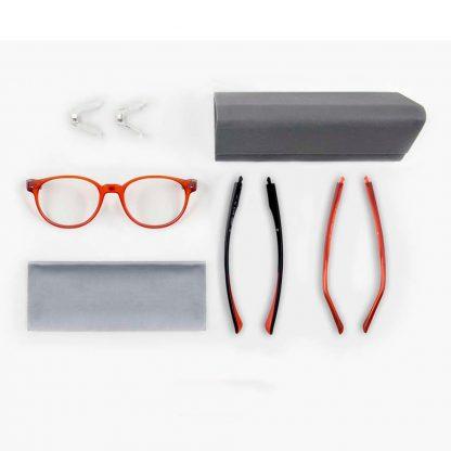 Защитные компьютерные очки Xiaomi Qukan W1 LG02QK (claret)-2