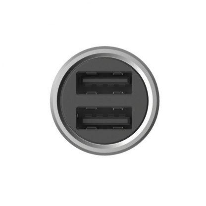 АЗУ USB выход ZMI Car Charger QC 3.0 AP821 silver - 2