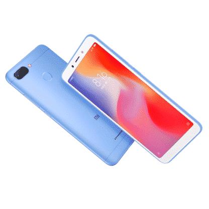 redmi 6 blue - 2