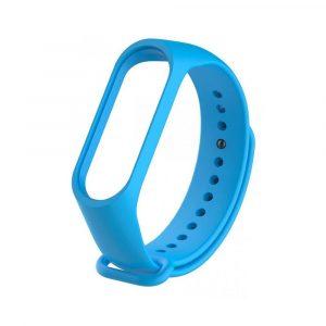 Ремешок для Xiaomi Mi Band 3/4 Голубой - 1