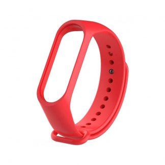Ремешок для Xiaomi Mi Band 3/4 Красный - 1