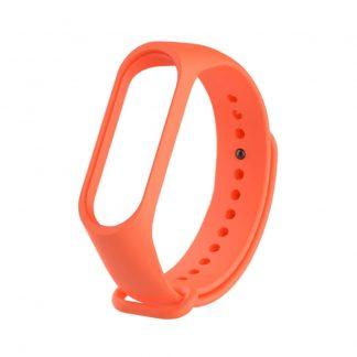 Ремешок для Xiaomi Mi Band 3/4 Оранжевый - 1
