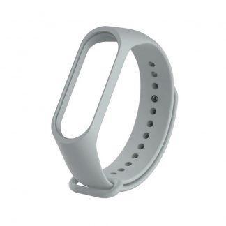Ремешок для Xiaomi Mi Band 3/4 серый - 1