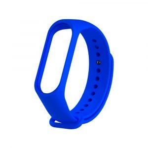 Ремешок для Xiaomi Mi Band 3/4 синий - 1