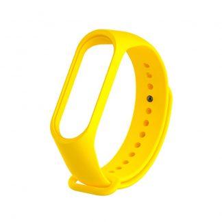 Ремешок для Xiaomi Mi Band 3/4 Желтый - 1
