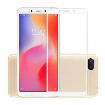 Защитное стекло 3D Xiaomi Redmi 6 белый