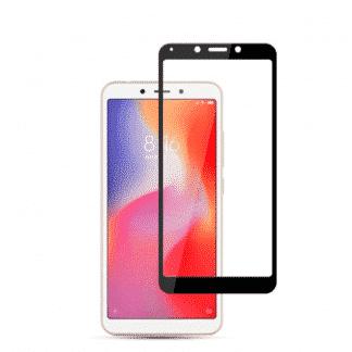 Защитное стекло 3D Xiaomi Redmi 6A черный