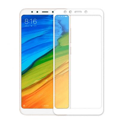 Защитное стекло 3D Xiaomi Redmi S2 белый