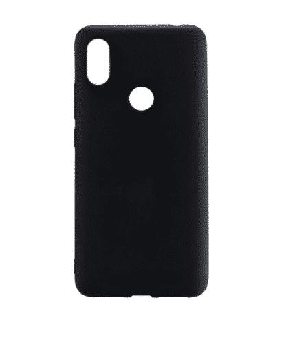 накладка силиконовая для Xiaomi Redmi S2 черный