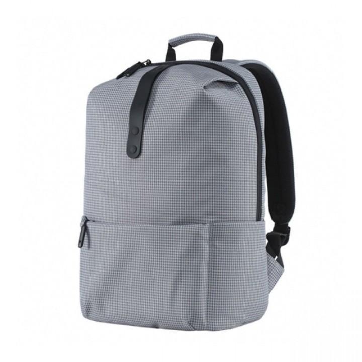 Рюкзак Xiaomi Leisure College Style Black (Серая клетка) - Фирменный ... c4d705beec5