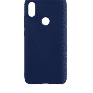синяя накладка силиконовая для Xiaomi Redmi S2