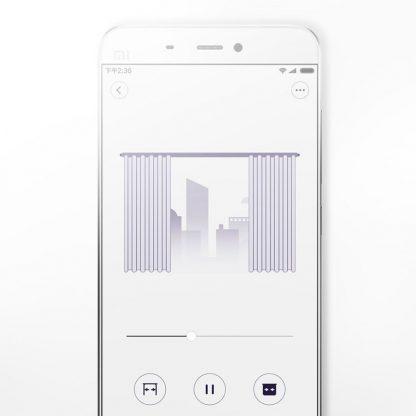 Электрокарниз Xiaomi Aqara Smart Curtain Controller-2