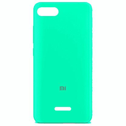 Накладка силиконовая для Xiaomi Redmi 6 мятный