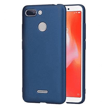 Накладка силиконовая для Xiaomi Redmi 6 синий