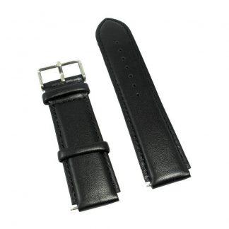 Ремешок кожаный для Xiaomi Huami Amazfit Bip Lite Черный - 1