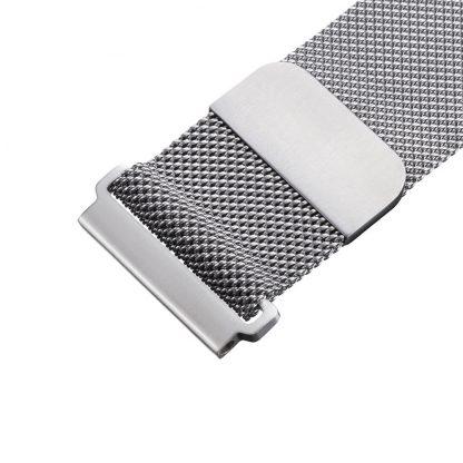 Ремешок метал Magnetic для Xiaomi Bip Lite Серебристый - 2