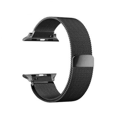 Ремешок метал Magnetic для Xiaomi Bip Lite Черный - 2