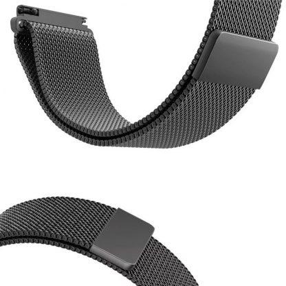 Ремешок метал Magnetic для Xiaomi Bip Lite Черный - 3