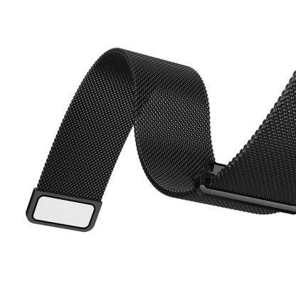 Ремешок метал Magnetic для Xiaomi Bip Lite Черный - 4