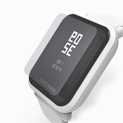 Защитная пленка MiJobs для Xiaomi Huami Amazfit Bip Lite Прозрачный (1 шт )