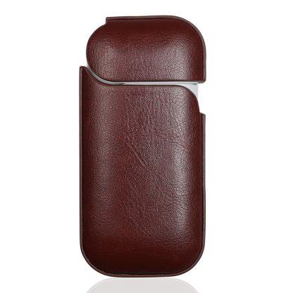 Кожаный-чехол-Brosco-Smooth-Leather-для-Iqos,-темно-коричневый2