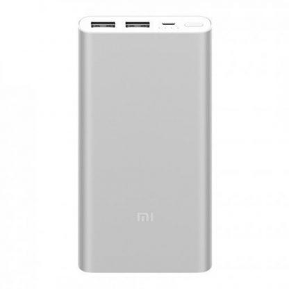 Внешний аккумулятор Power Bank Xiaomi 2s 2USB 10000 mAh, silver-1