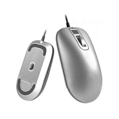 Мышь со сканером отпечатка пальца Xiaomi Smart Fingerprint Mouse Silver-3