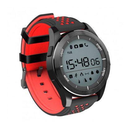 Умные Часы NO.1 F3 Black Red-2