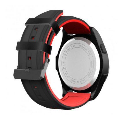 Умные Часы NO.1 F3 Black Red-3