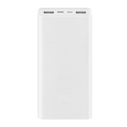Vneshnij Akkumulyator Power Bank Xiaomi 3 20000 Mah White Plm18zm 1