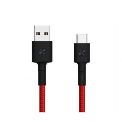 Кабель ZMI Premium Braided USB/Type-C 100 см красный-1