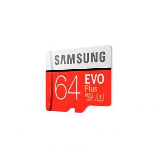 MicroSD 64GB Samsung Evo Plus, 10 U1 U3 (100 Mb/s) + SD адаптер-1