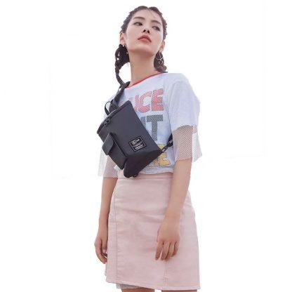 Ryukzak Xiaomi 90 Points Chic Chest Bag Small Black 06